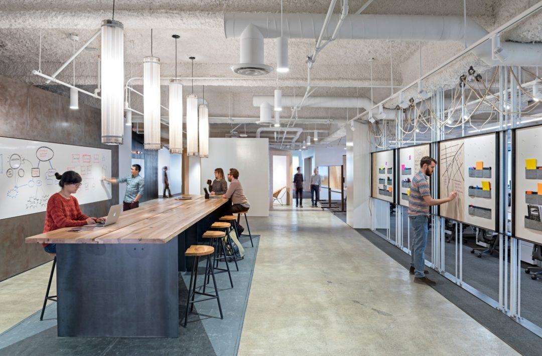 innovative work area social space